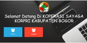 Contoh Aplikasi Koperasi