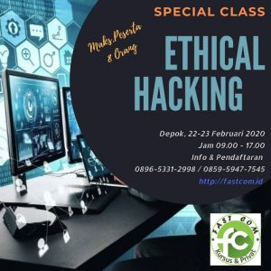 Special Class Ethical Hacking